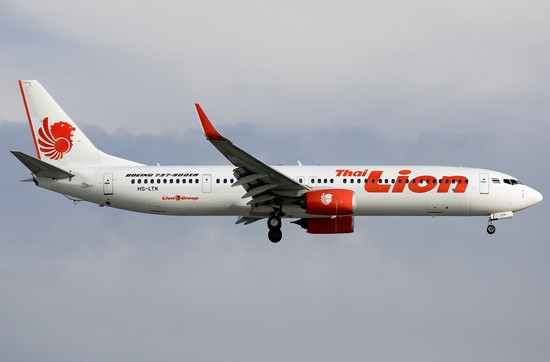 самолет Thai Lion Air